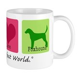 Peace Love Foxhound Coffee Mug