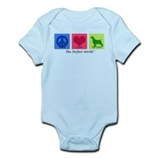 Peace Love Springer Infant Bodysuit