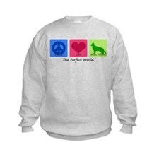 Peace Love German Shepherd Sweatshirt