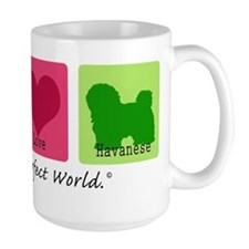 Peace Love Havanese Mug