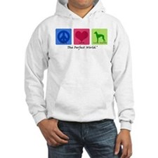 Peace Love Italian Greyhound Hoodie