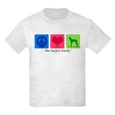Peace Love Italian Greyhound T-Shirt