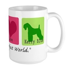 Peace Love Kerry Blue Mug