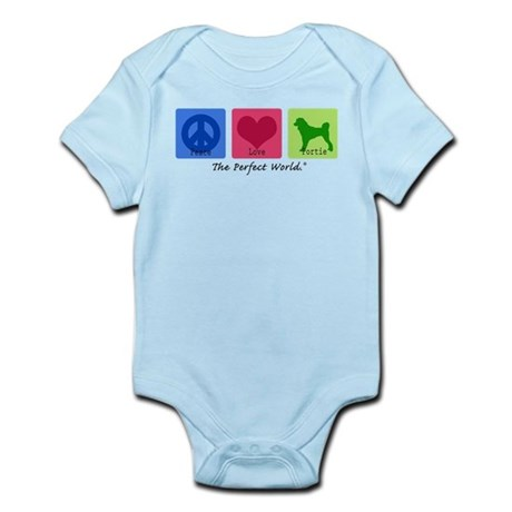 Peace Love Portie Infant Bodysuit