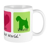 Peace Love Wheaten Coffee Mug