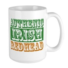 Authentic Irish Redhead Mug