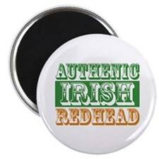 "Authentic Irish Redhead 2.25"" Magnet (100 pack)"
