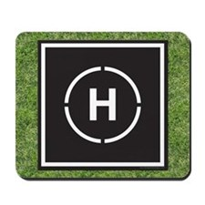 Helicopter Landing Mousepad