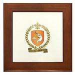 HOUSSEAU Family Crest Framed Tile