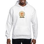 HOUSSEAU Family Crest Hooded Sweatshirt