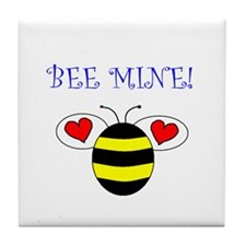 BEE MINE Tile Coaster