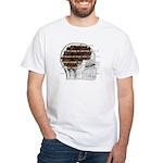 Caffeine Mantra: White T-Shirt