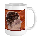 Caffeine Mantra: Large Mug