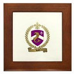 HUOT Family Crest Framed Tile
