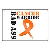 Bad Ass Leukemia Warrior Banner