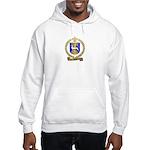 HURET Family Crest Hooded Sweatshirt