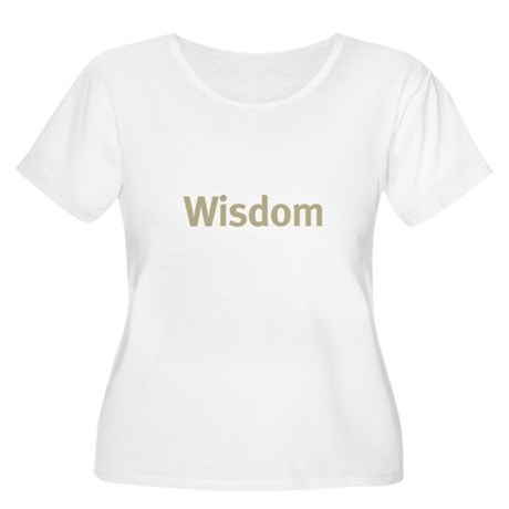Wisdom Women's Plus Size Scoop Neck T-Shirt