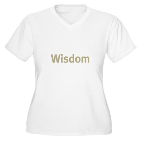 Wisdom Women's Plus Size V-Neck T-Shirt