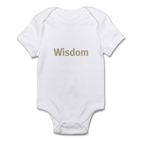 Wisdom Infant Bodysuit