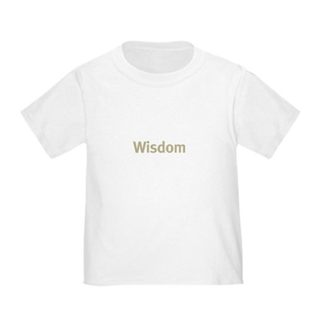 Wisdom Toddler T-Shirt