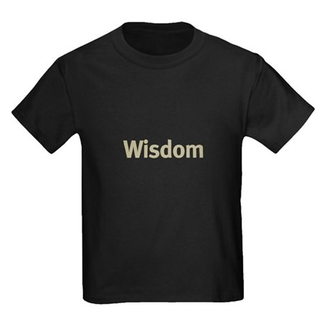 Wisdom Kids Dark T-Shirt