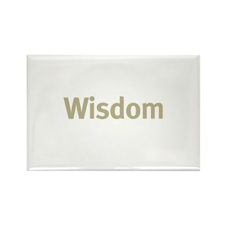 Wisdom Rectangle Magnet (100 pack)