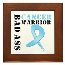 Prostate Cancer Warrior Framed Tile