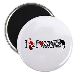 "I Love Hearts Possums 2.25"" Magnet (10 pack)"