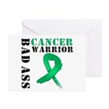 BadAssLiverCancer Warrior Greeting Cards (Pk of 20