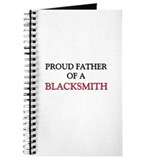 Proud Father Of A BLACKSMITH Journal
