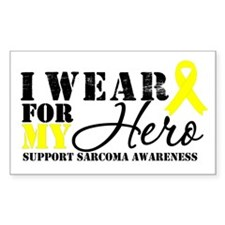Sarcoma Hero Rectangle Sticker 10 pk)
