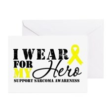 Sarcoma Hero Greeting Cards (Pk of 10)