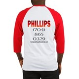 Phillips Baseball Jersey Fire Red/Yellow