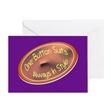 One-Button Suits - Birthday Card