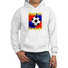 Cute Thank you soccer coach Hoodie