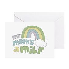 My Mom's A MILF Greeting Card