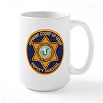 Guam Marshal Large Mug