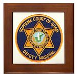Guam Marshal Framed Tile