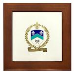 GILBERT Family Crest Framed Tile