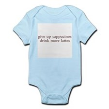 Give Up Cappucino Infant Bodysuit