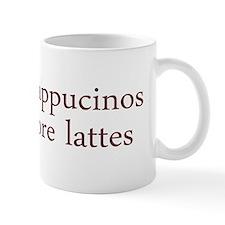 Give Up Cappucino Mug