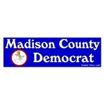 Madison County Democrat Sticker