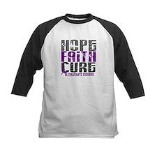 HOPE FAITH CURE Alzheimer's Disease Tee