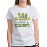 Queen Of The Court Tennis Women's T-Shirt