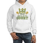 Queen Of The Court Tennis Hooded Sweatshirt