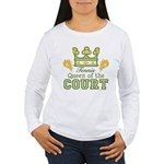 Queen Of The Court Tennis Women's Long Sleeve T-Sh