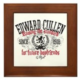 Cute Team edward Framed Tile