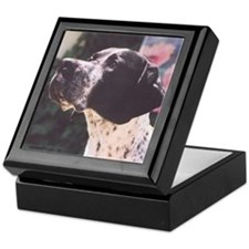 Pointer as Devoted Friend Keepsake Box