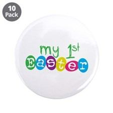 "My 1st Easter 3.5"" Button (10 pack)"