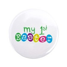 "My 1st Easter 3.5"" Button (100 pack)"